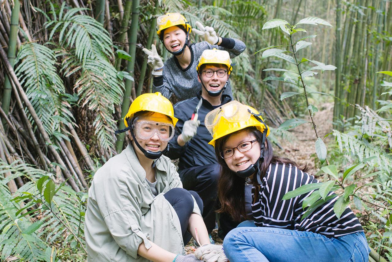 這一天,我們到山裡「上班」!首度舉辦自然谷環境志工,協助竹林疏伐。