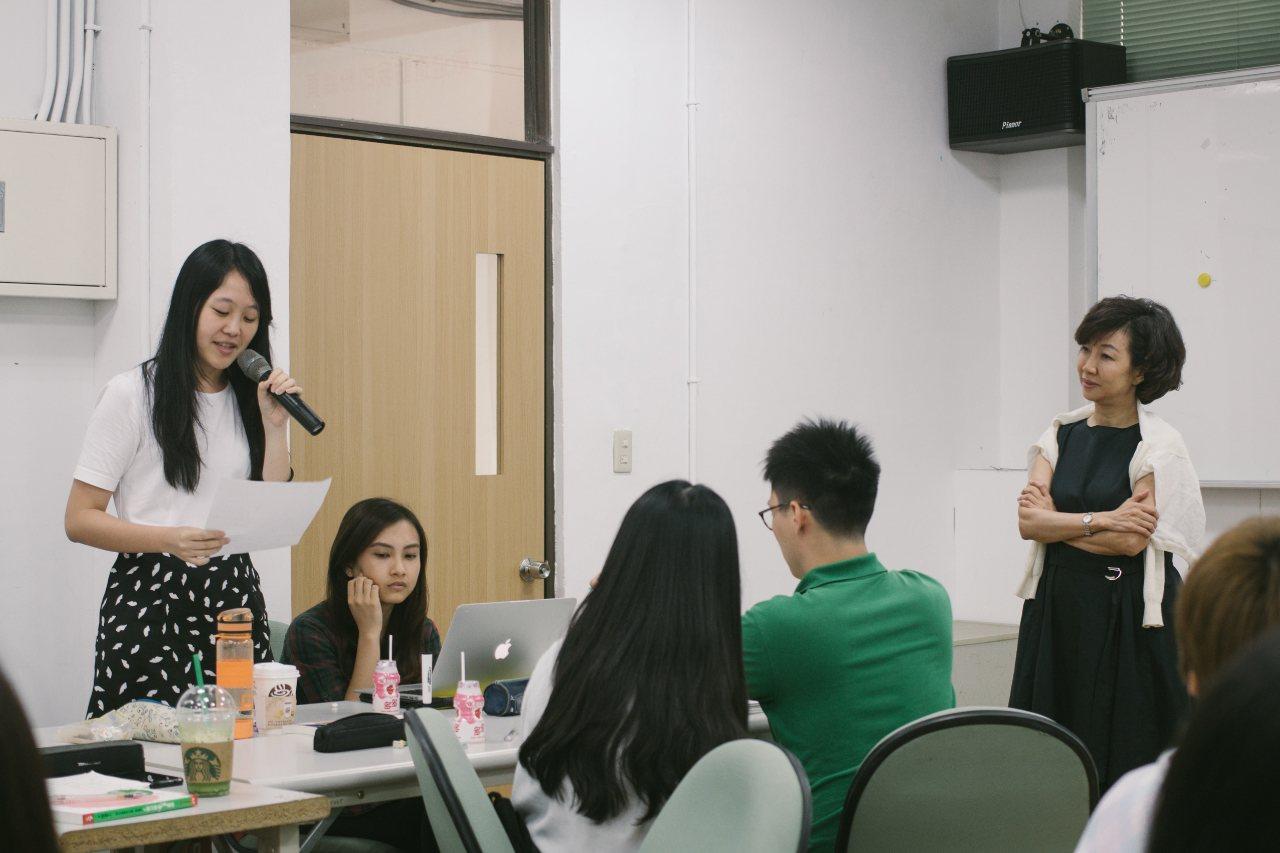 資深業界講師的人生精華分享—世紀奧美公關創辦人丁菱娟老師。