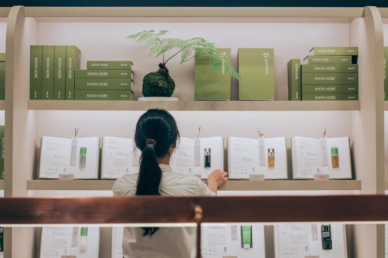 綠藤連續兩年參與 Pinkoi 品品市集,與更多客人分享綠藤純淨保養理念